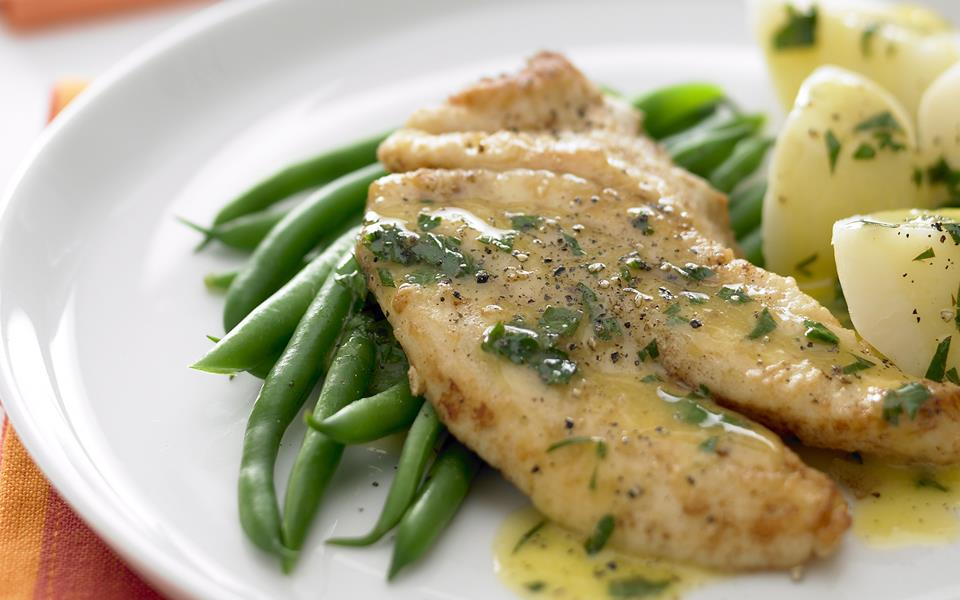 Lemon Butter Fish Recipe Food Network