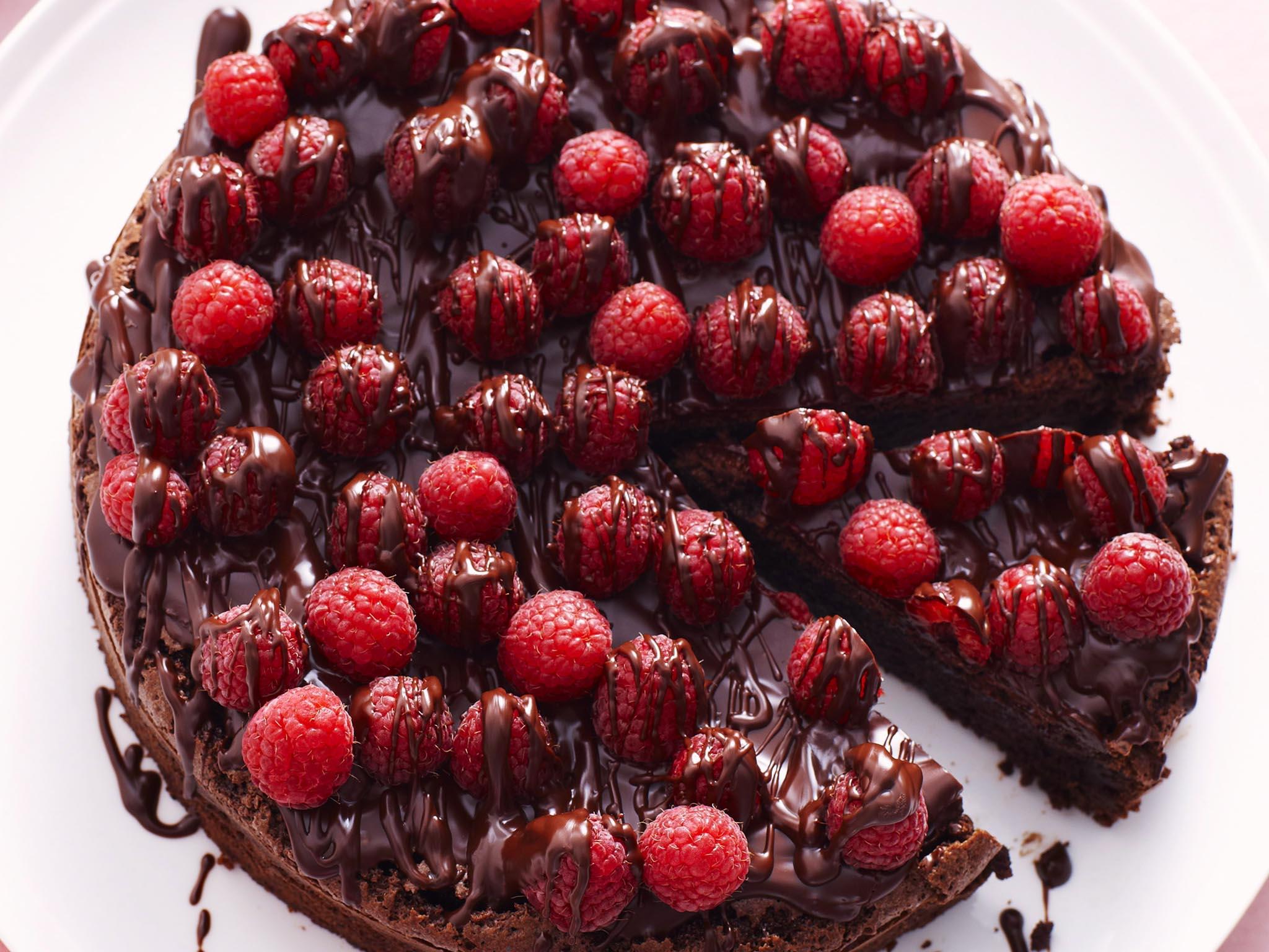 Chocolate Raspberry Torte Recipe