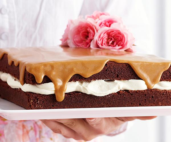 Chocolate sponge with coffee icing recipe food to love for Chocolate sponge ingredients