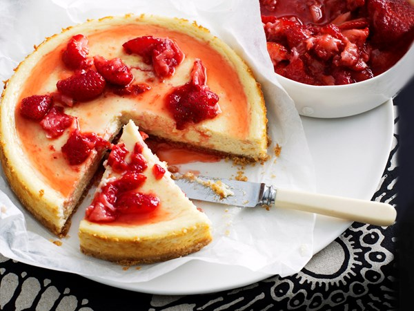 Low-fat new york cheese cake