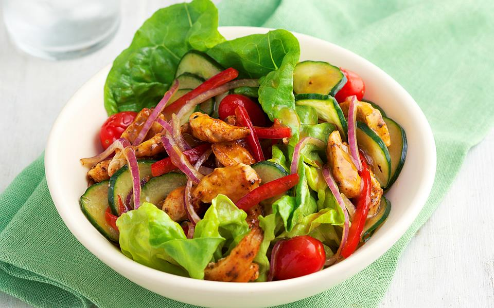 Chicken and mango salad recipe | FOOD TO LOVE