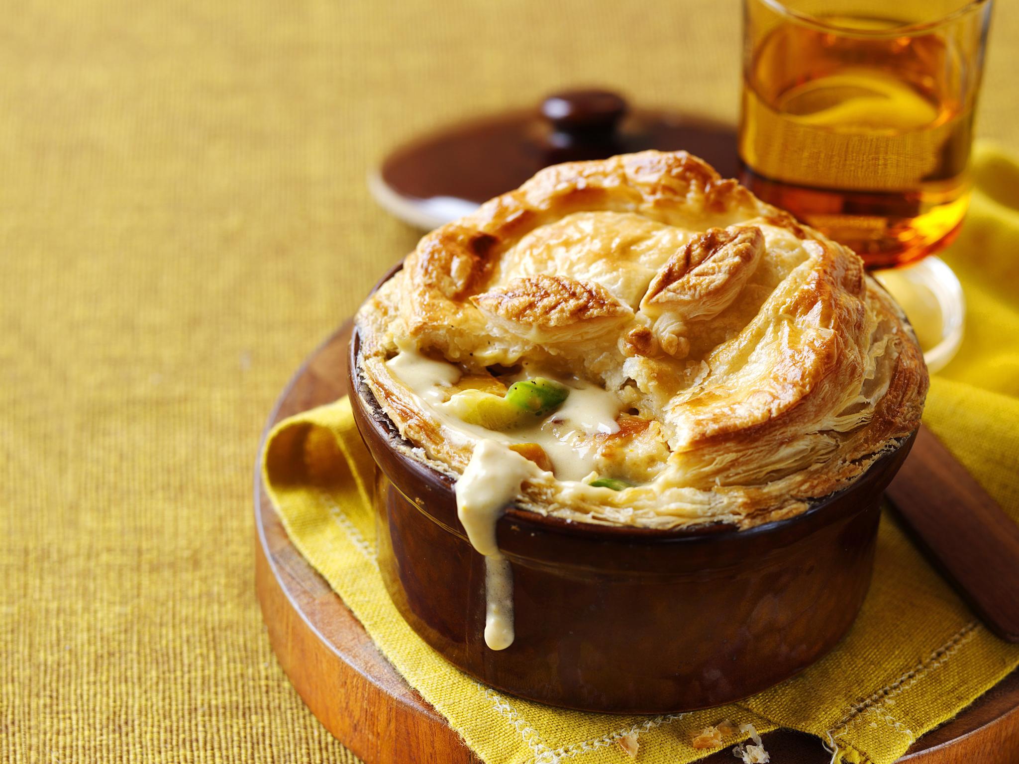 Chicken leek and pumpkin pot pies recipe food to love forumfinder Choice Image