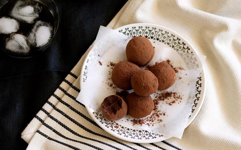 Frangelico truffles recipe | FOOD TO LOVE
