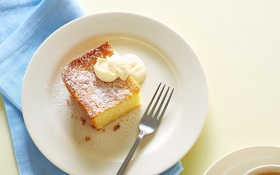 Lemon sour cream cake recipe   FOOD TO LOVE