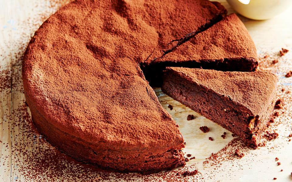Chocolate Hazelnut Cake Images : Flourless Chocolate-Hazelnut Cake Recipe   Dishmaps
