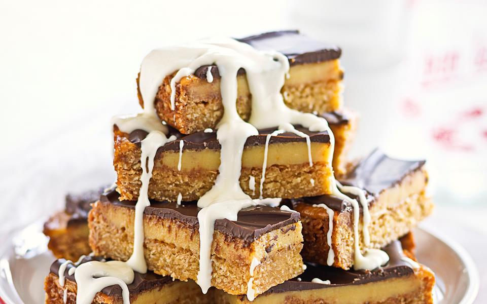 Chocolate caramel slice recipe | FOOD TO LOVE