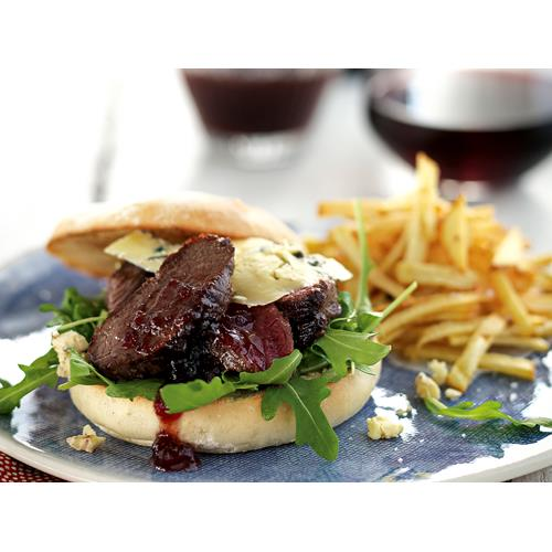 Blue Cheese Burgers Food Network