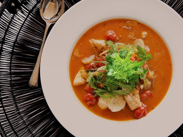 French-style fish soup
