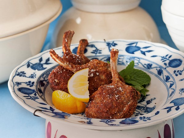 how to cook crusted lamb cutlets