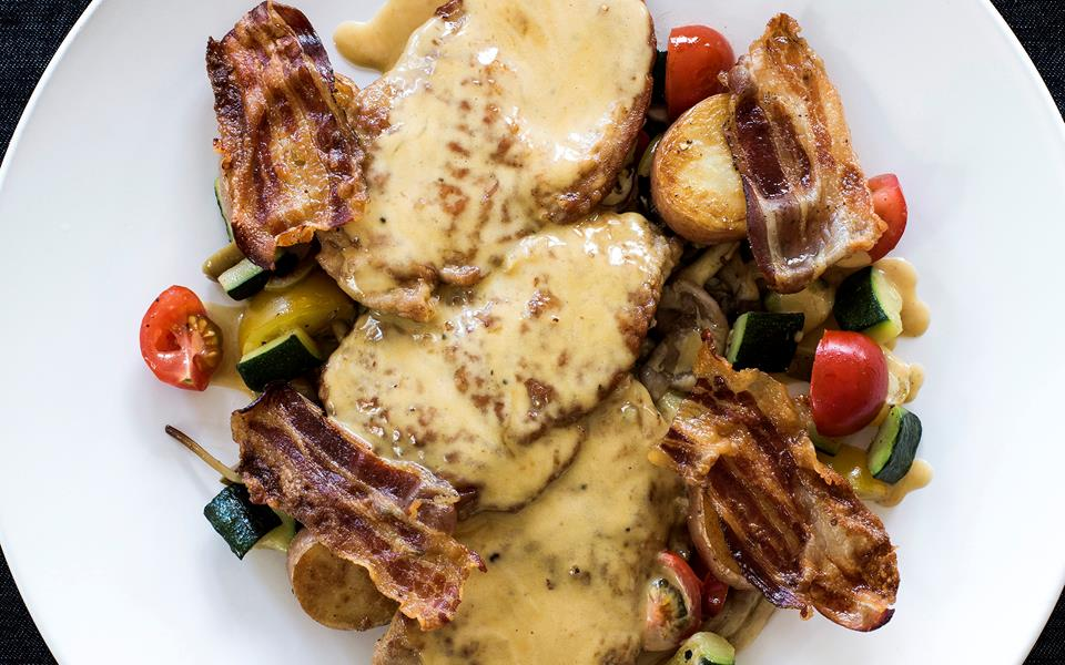 Veal scaloppine with wild mushrooms and marsala sauce recipe | FOOD TO ...