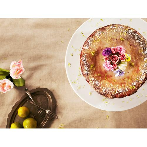Lime And Almond Cake With Orange Blossom Syrup Recipe