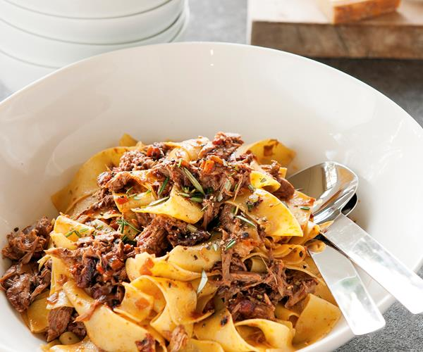 Duck ragù with pappardelle recipe | Food To Love
