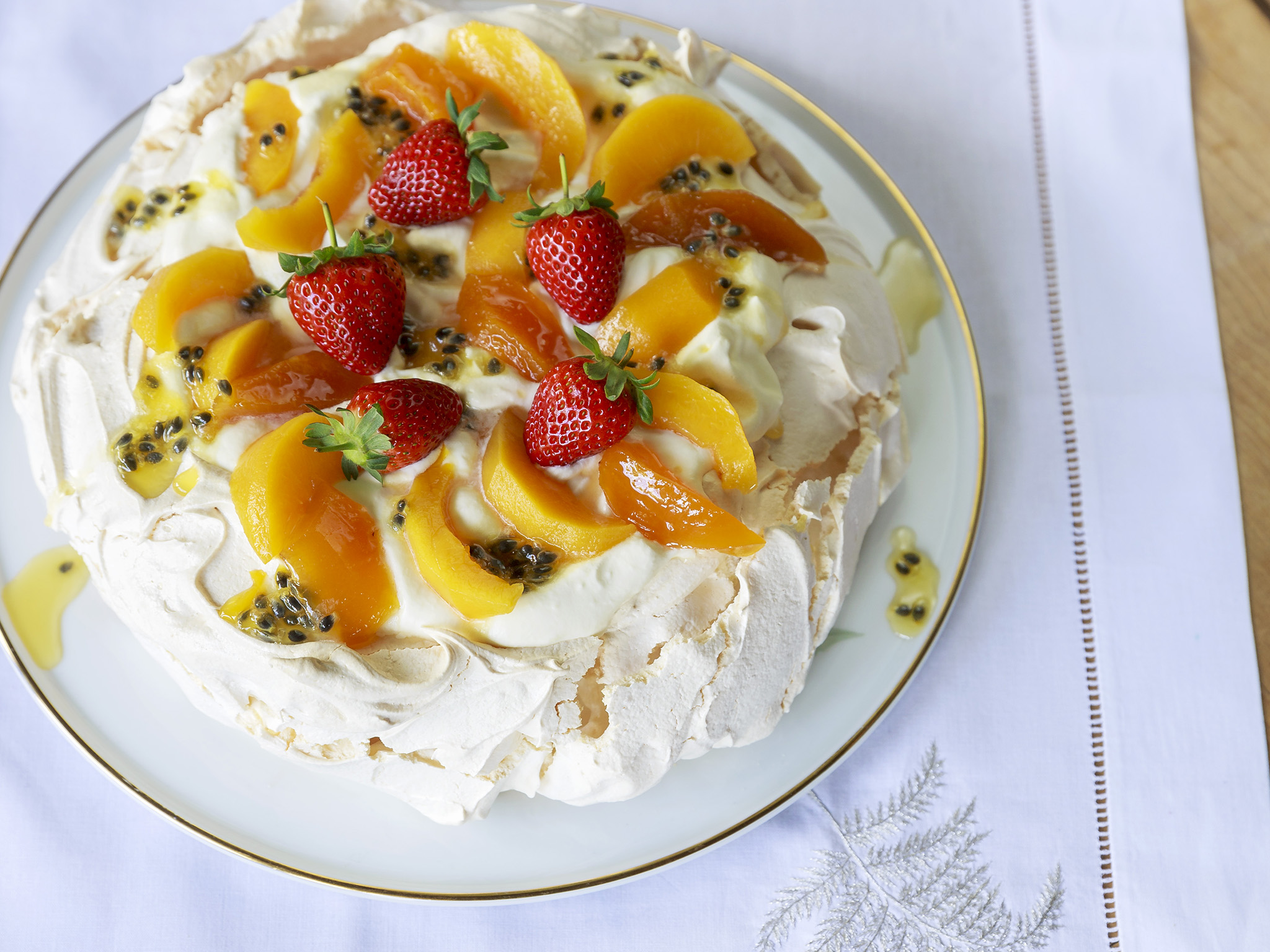 Image result for pavlova passionfruit
