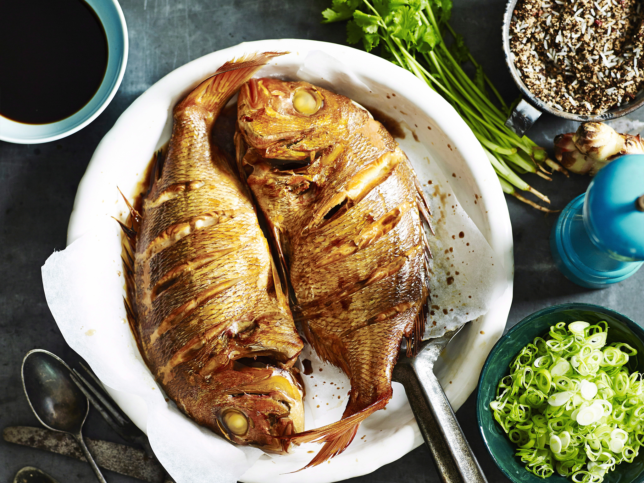 Whole Baked Snapper Recipe