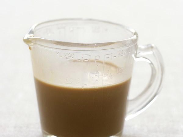 Coffee liqueur sauce