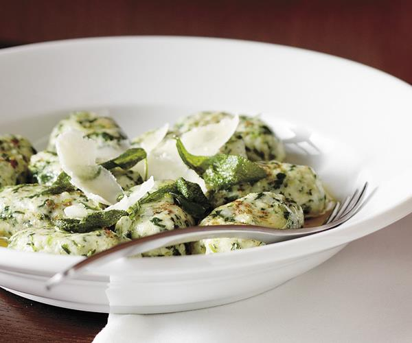 Spinach and ricotta gnocchi with sage butter recipe | Food To Love