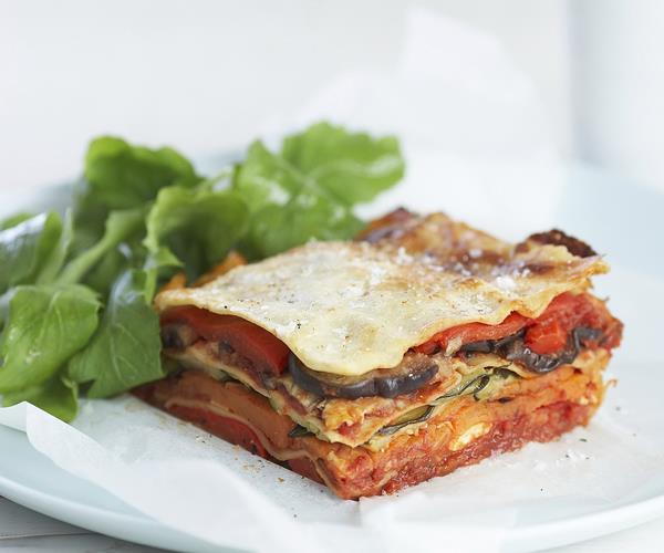 Roasted vegetable lasagne recipe | Food To Love