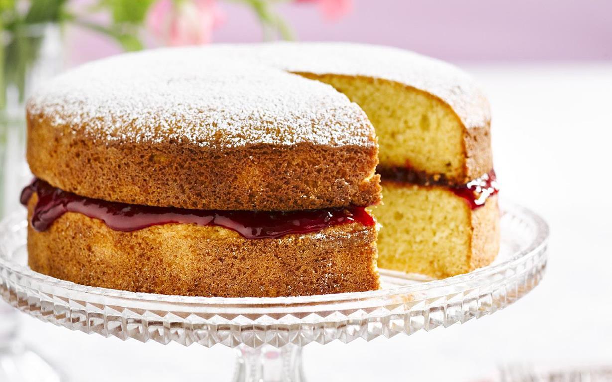 Inch Deep Victoria Sponge Cake Recipe