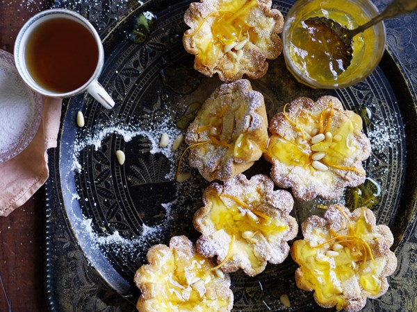 Baked ricotta tartlets