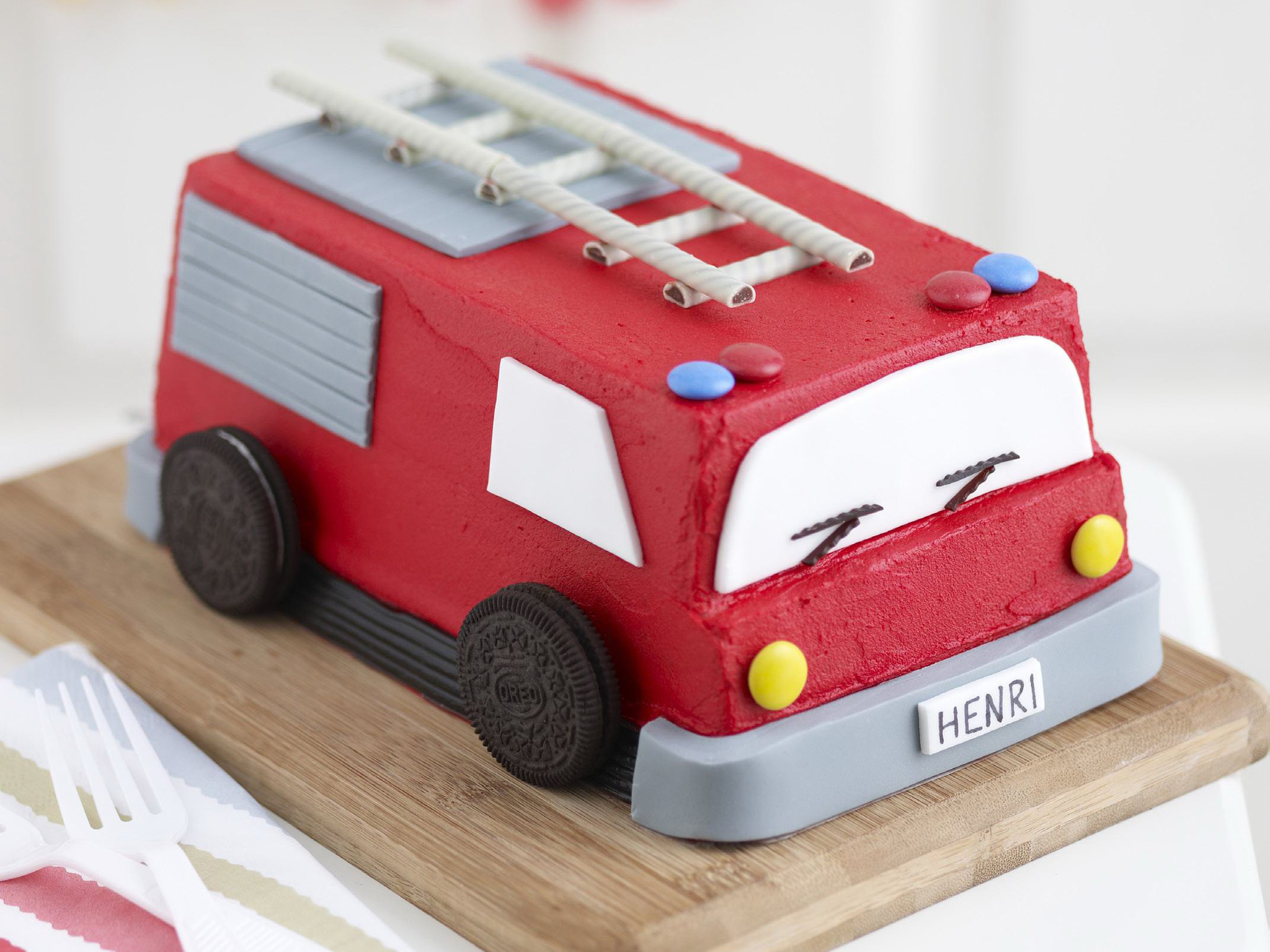 Fire engine recipe Food To Love