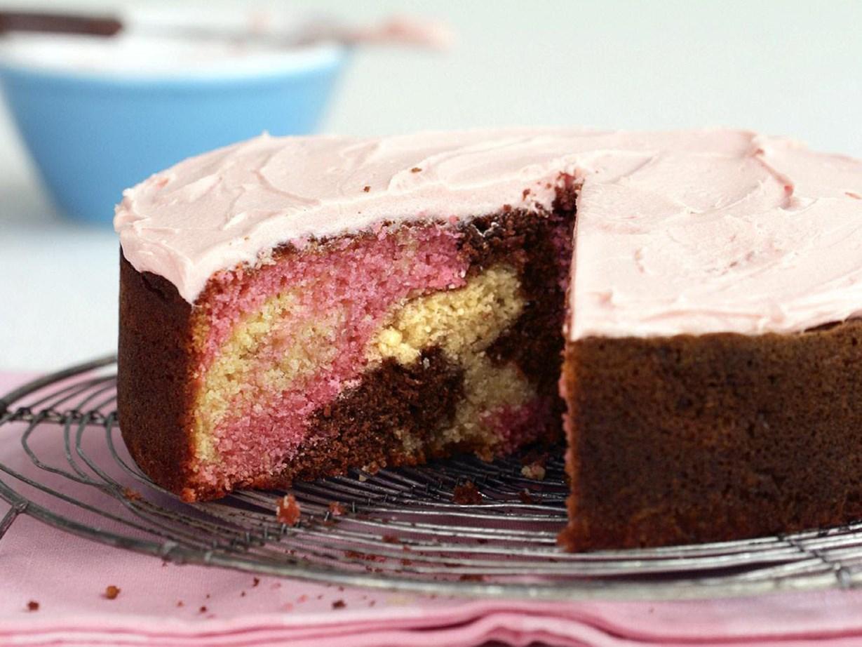 Marble Cake Recipe Dishmaps
