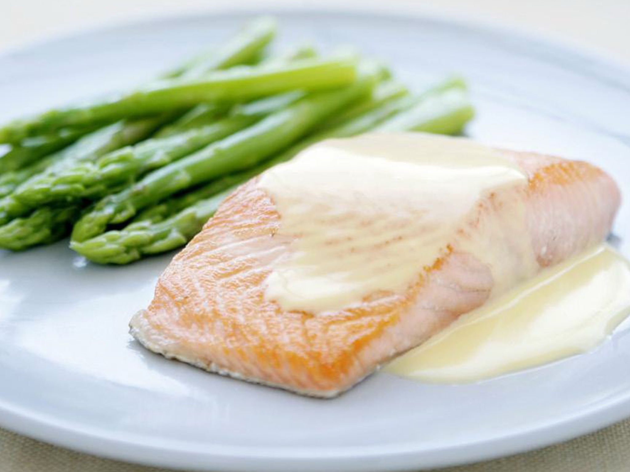 Creamy white wine sauce for White wine with fish