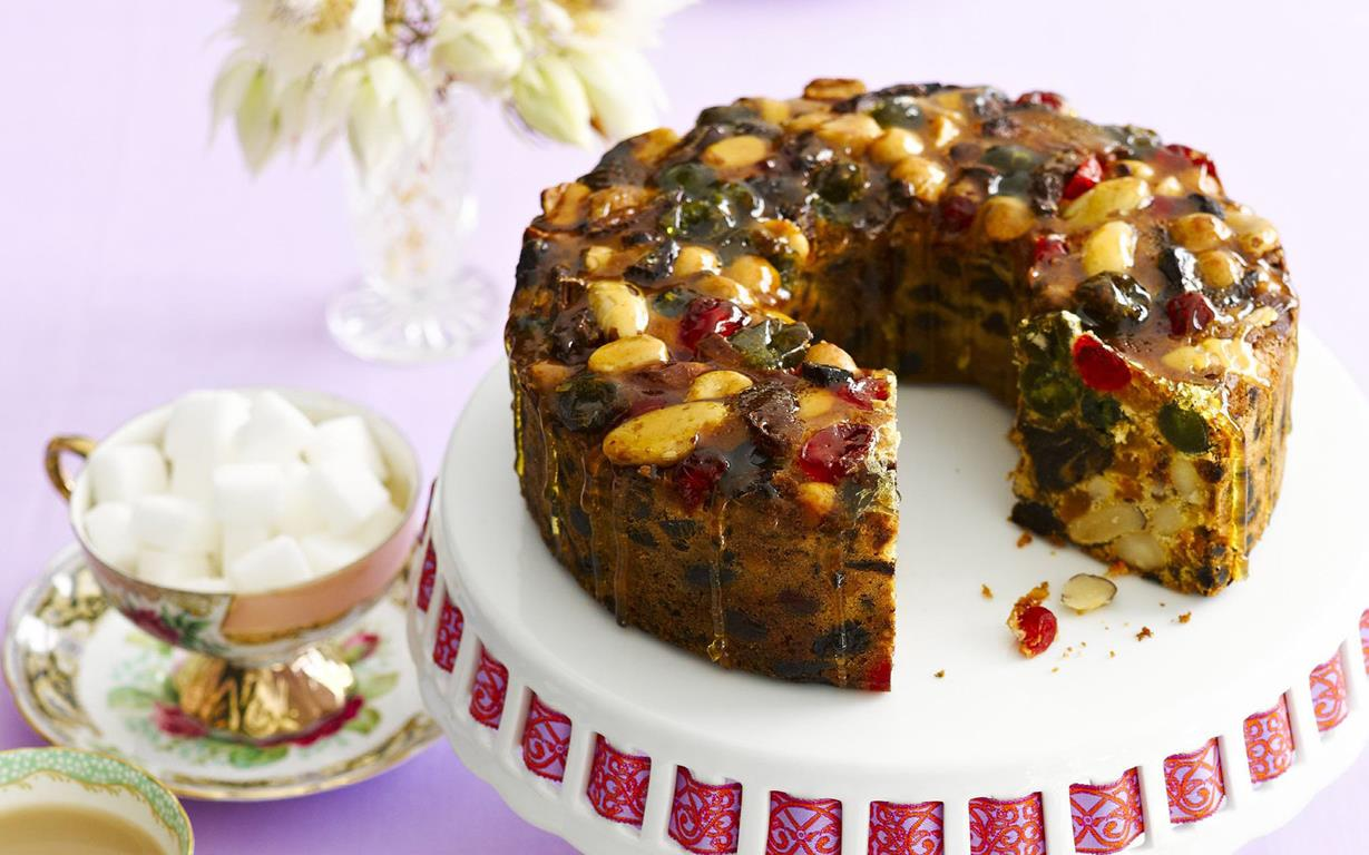 Brazil Nut Fruit Cake