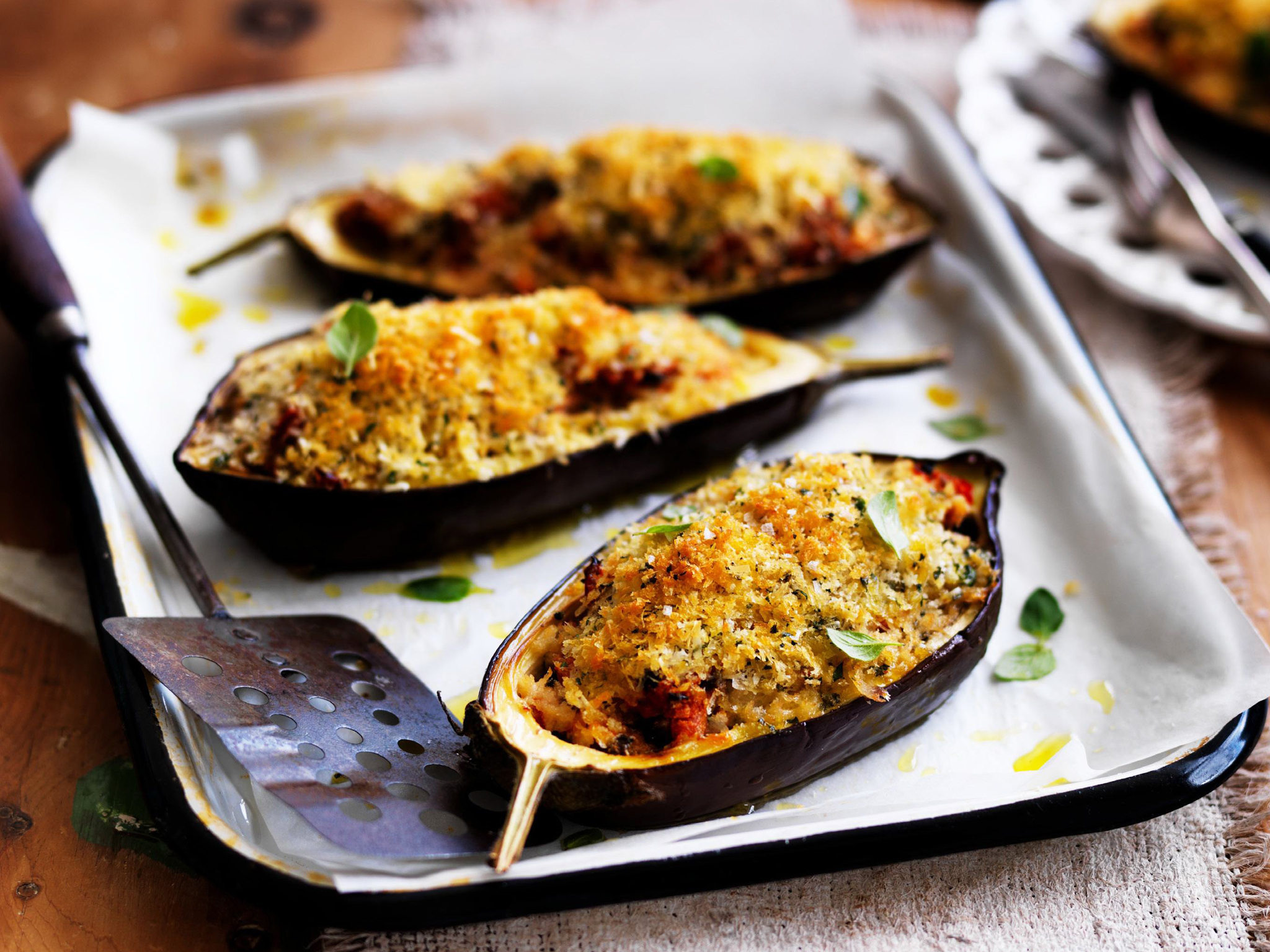 Greek baked eggplant recipe food to love forumfinder