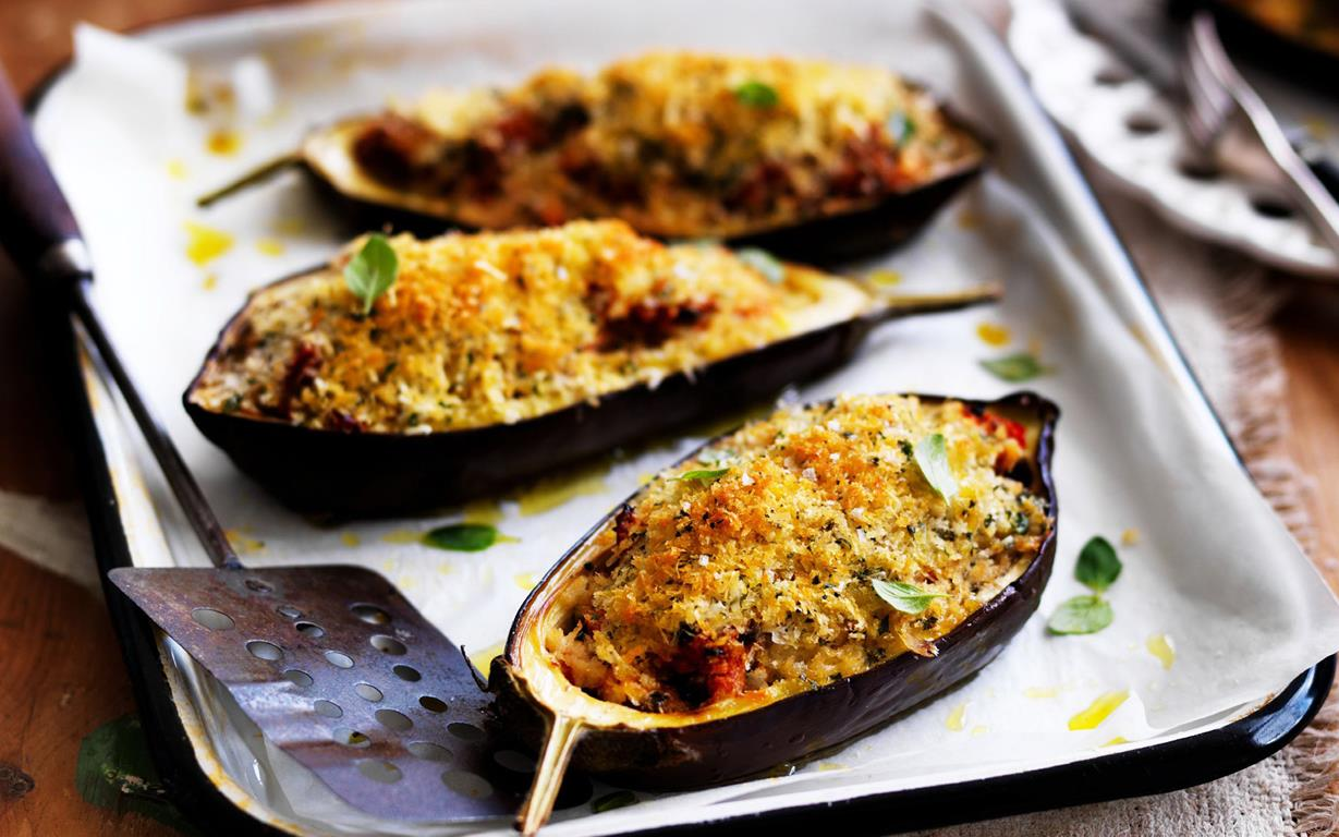 Greek baked eggplant recipe food to love forumfinder Image collections