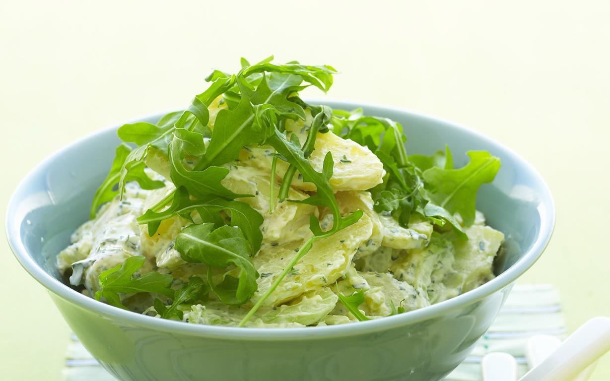 horseradish and tarragon potato salad