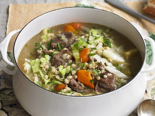 Irish lamb and barley stew
