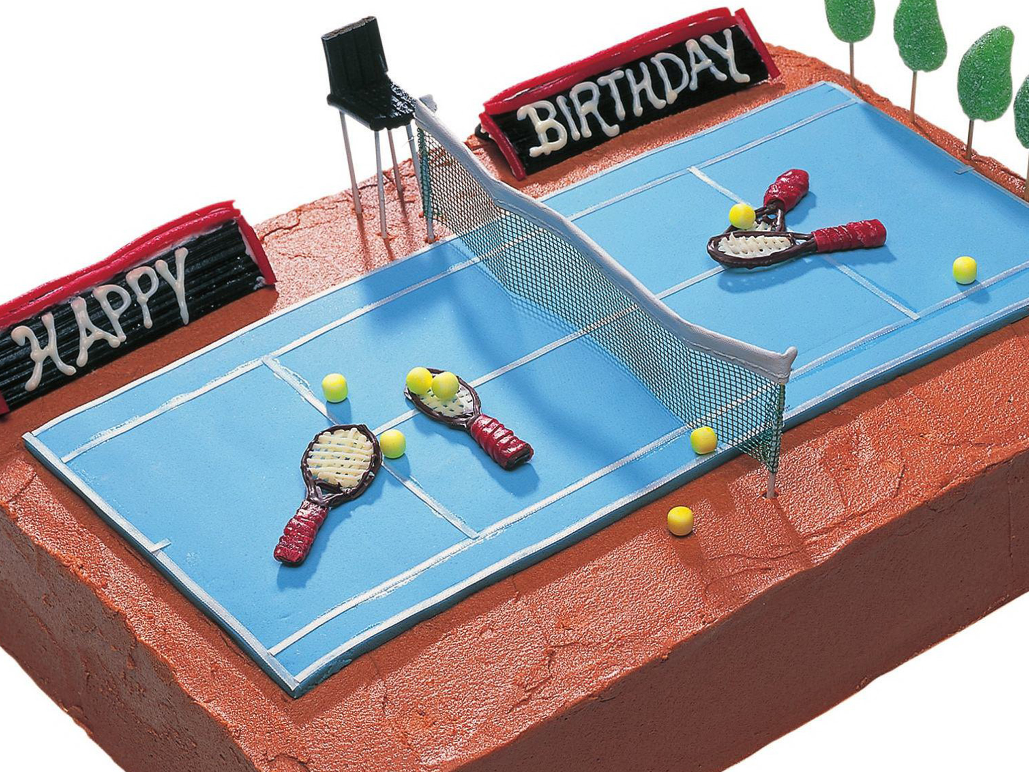 Tennis court birthday cake recipe Food To Love