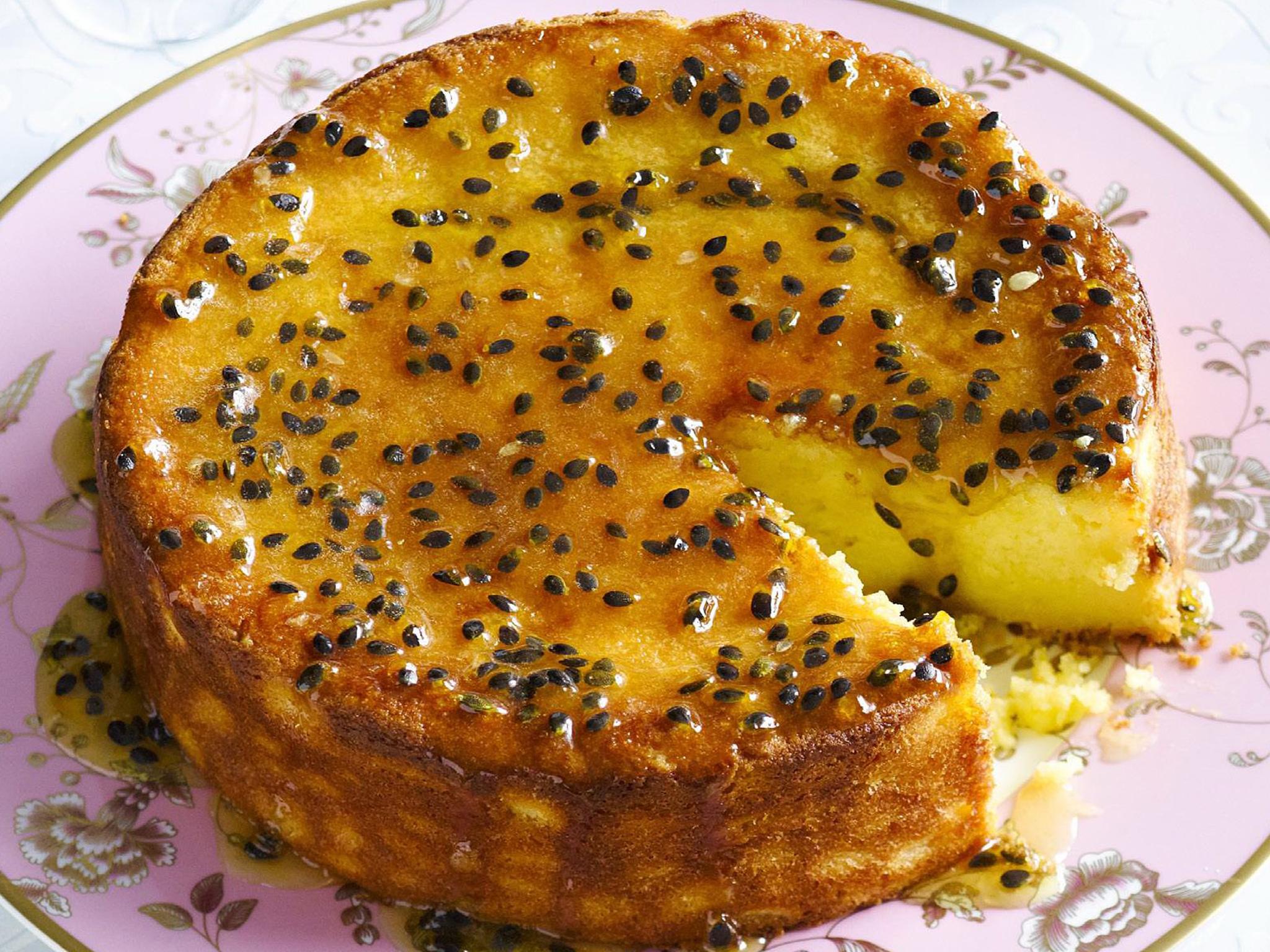 Recipe for granadilla cake