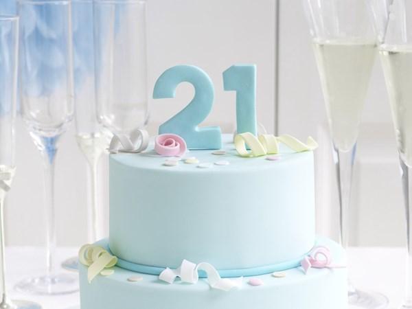 21st celebration cake