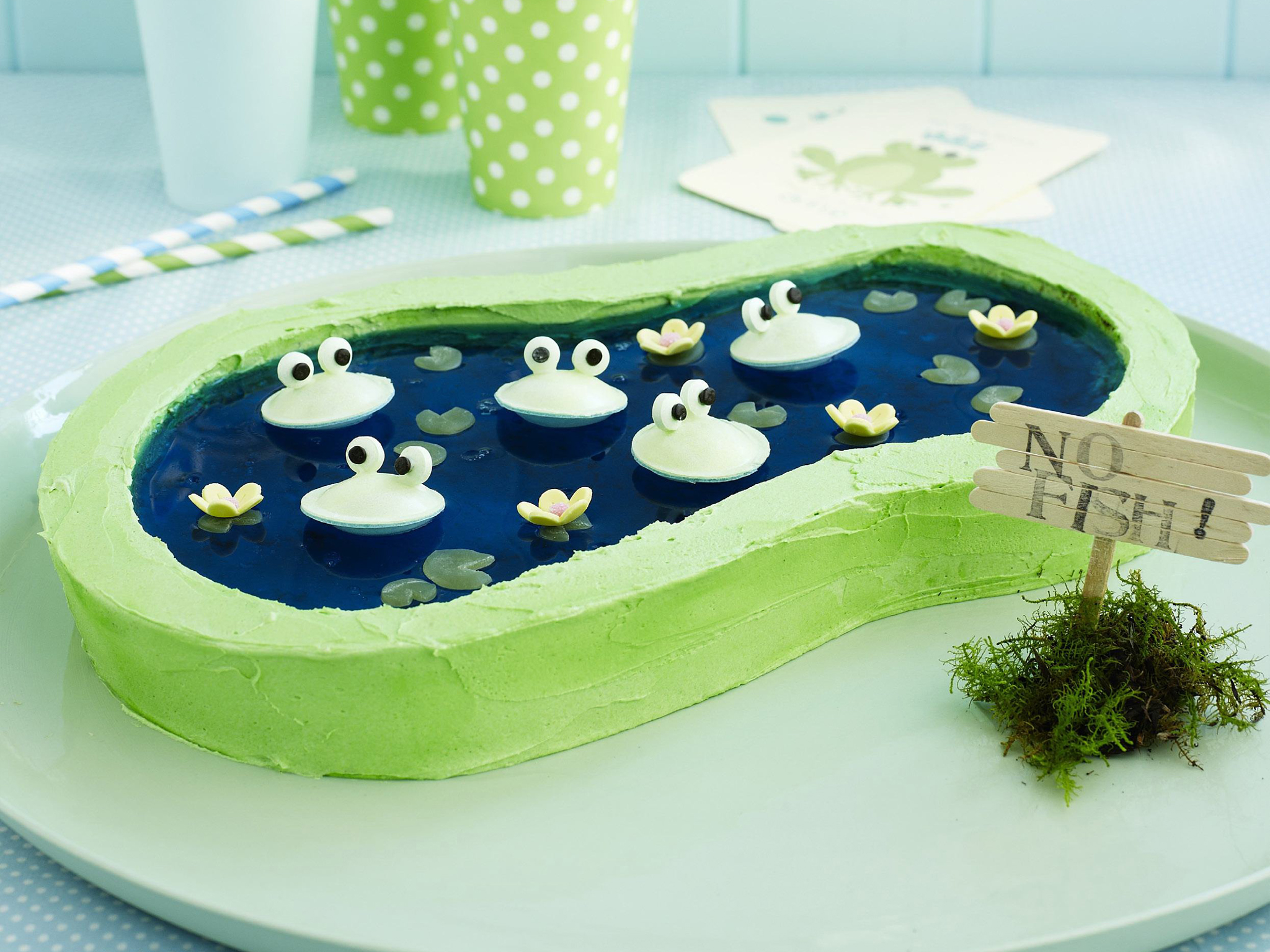 Frogs In A Pond Recipe Food To Love