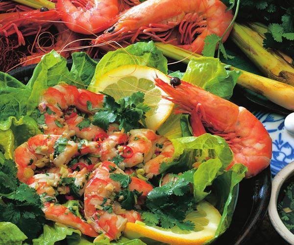 how to make prawns straight