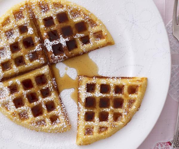 Waffles with maple syrup recipe | Food To Love