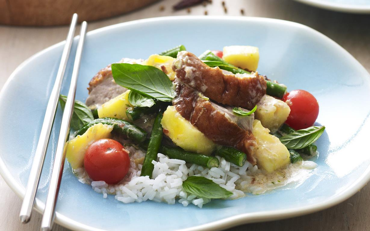 Panang duck curry recipe | Food To Love