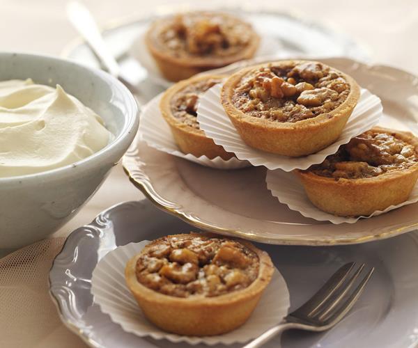 Honeyed Walnut Tart Recipe — Dishmaps
