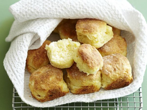 Goat's cheese scones