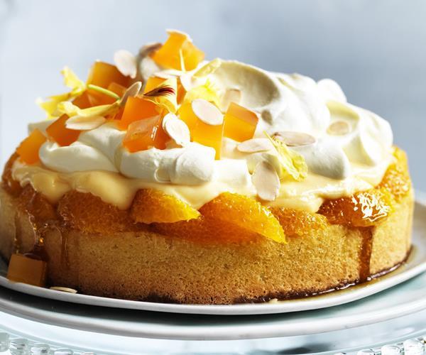 Orange blossom trifle cake recipe | Food To Love