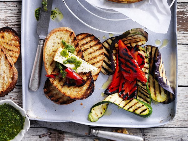 How to chargrill vegetables