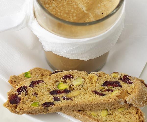 Pistachio & cranberry biscotti recipe | Food To Love
