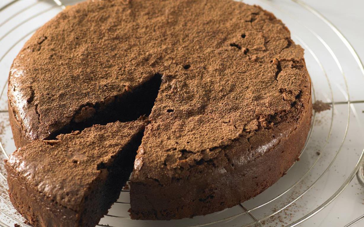 chocolate cake ii flourless chocolate cake i flourless dark chocolate ...