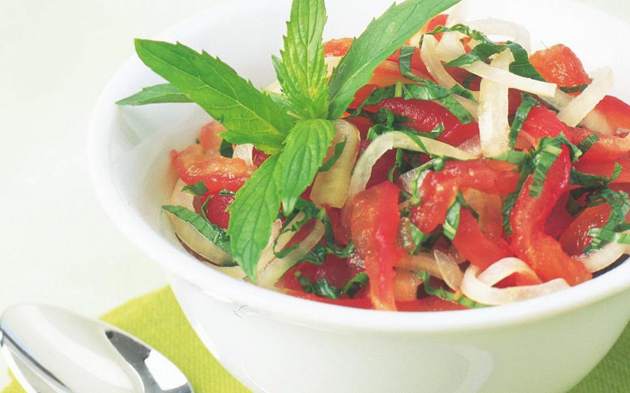tomato mint kachumber