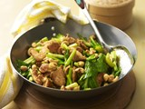 Chilli chicken with cashews nuts