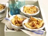 Roast potato and bacon quiche