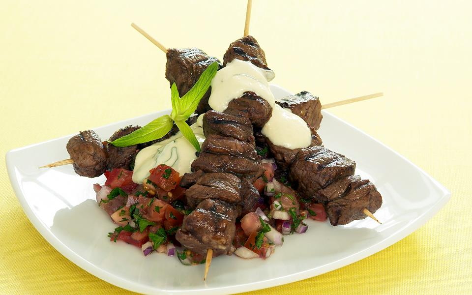 Lamb souvlaki recipe | FOOD TO LOVE
