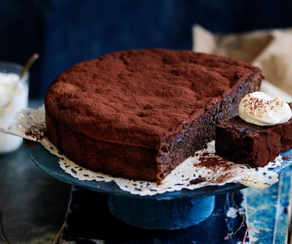 Chocolate Prune Cake Gluten Free