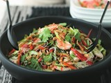 Vietnamese prawn and vermicelli salad